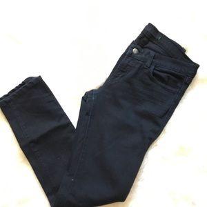 J Brand Pencil leg black ankle length jeans